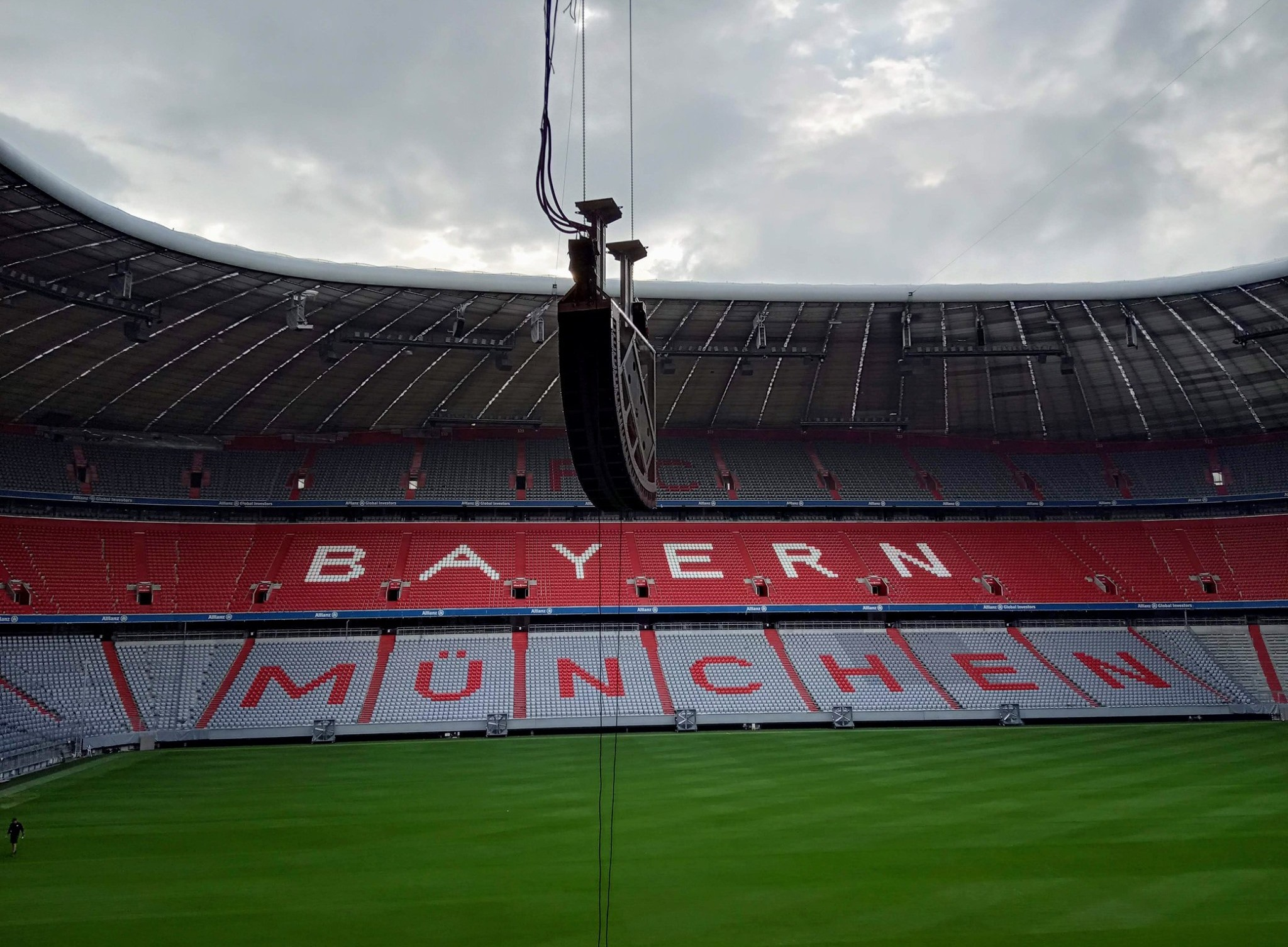 Allianz Arena, Minhen