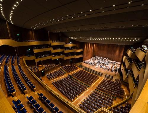 Prince Mahidol Hall Koncertna dvorana, Bangkok